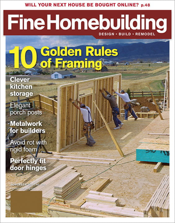 Fine homebuilding magazine fine homebuilding magazine for Fine home building
