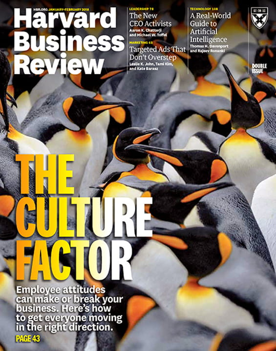 Harvard Business Review Magazine  Harvard Business Review Magazine